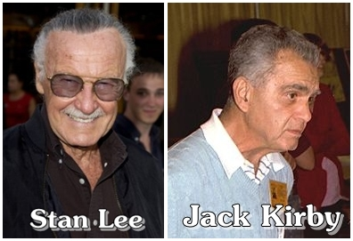 Stan Lee vs Jack Kirby