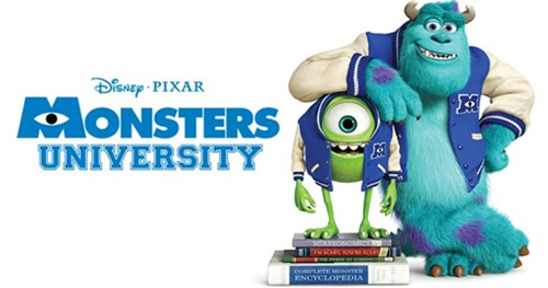 Review Monsters University